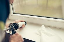 air sealing windows