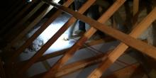 attic with new insulation in Mclean, Virginia