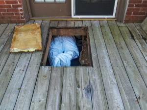 crawl space encapsulation, air sealing, insulation, the fifth fuel, md