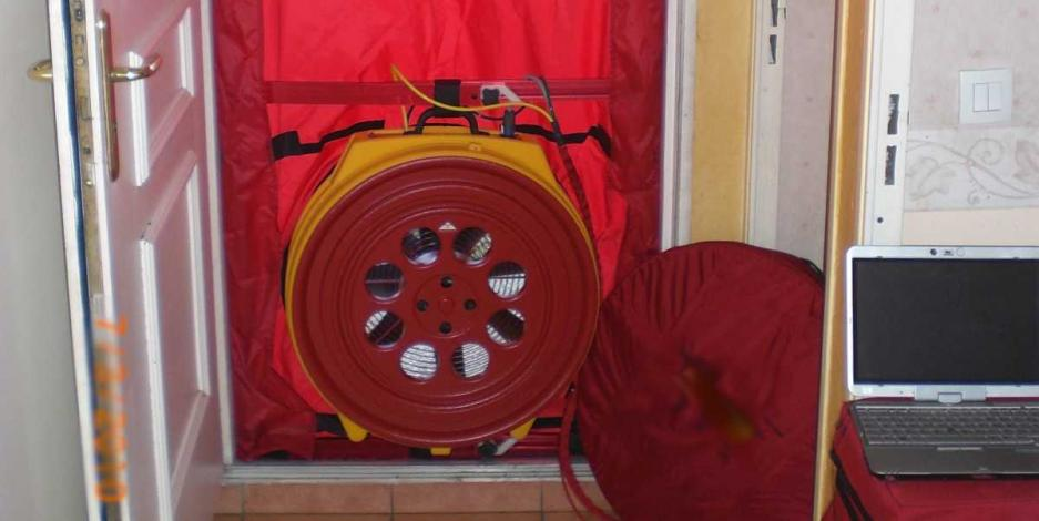 The Fifth Fuel Blower Door Testing, VA